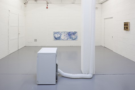 Photograph showing Piper Keys' exhibition at SPACE