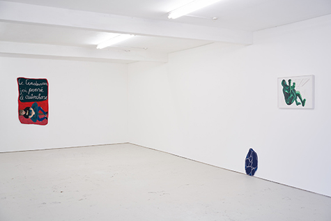 Photograph showing Miriam Visaczki's exhibition at Piper Keys