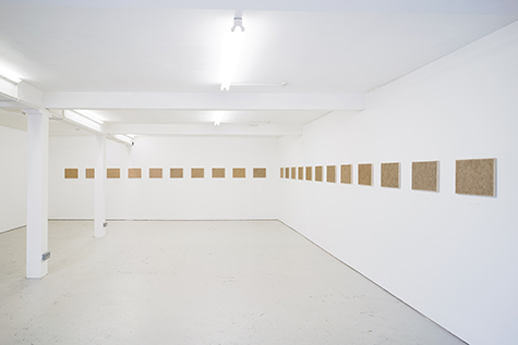 Photograph showing Amikam Toren's exhibition at Piper Keys