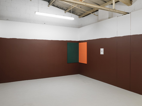Photograph showing Andrea Büttner and Brit Meyer's exhibition at Piper Keys