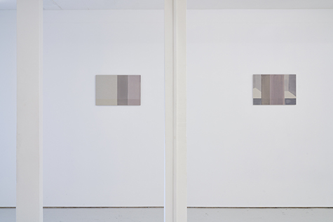 Photograph showing Claudia Lemke's exhibition at Piper Keys