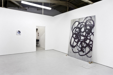 Photograph showing Keith Farquhar's exhibition at Piper Keys