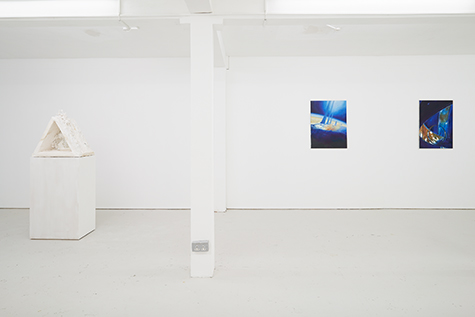 Photograph showing Mathis Gasser's exhibition at Piper Keys