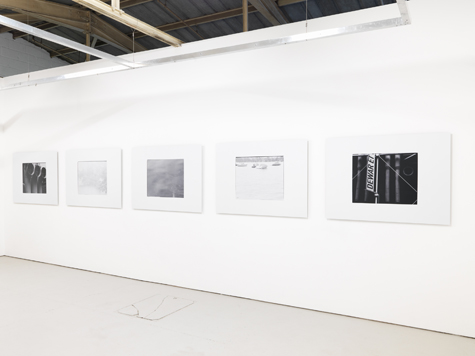 Photograph showing Rachal Bradley's exhibition at Piper Keys