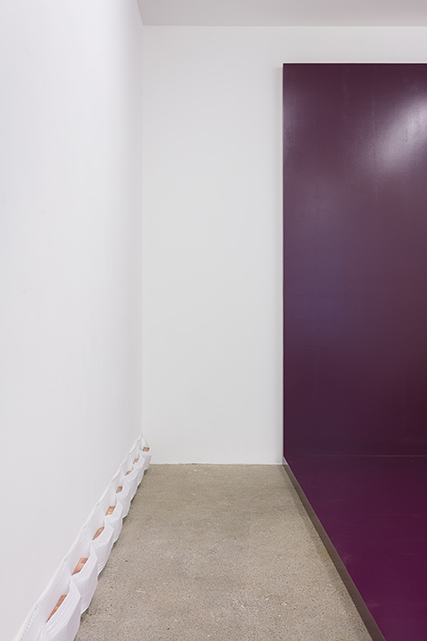Photograph showing Matthew Richardson's exhibition at Piper Keys