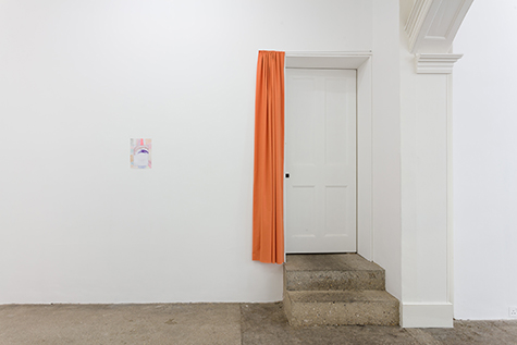 Photograph showing Kate Murphy's exhibition at Piper Keys