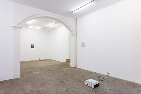 Photograph showing Jess Wiesner's exhibition at Piper Keys